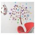 Samolepka na stenu -  Štedrý stromček