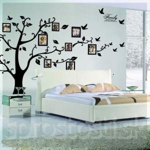 Samolepka na stenu - Strom spomienok XXL