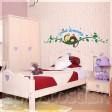 Samolepka na stenu - Spiaca opička