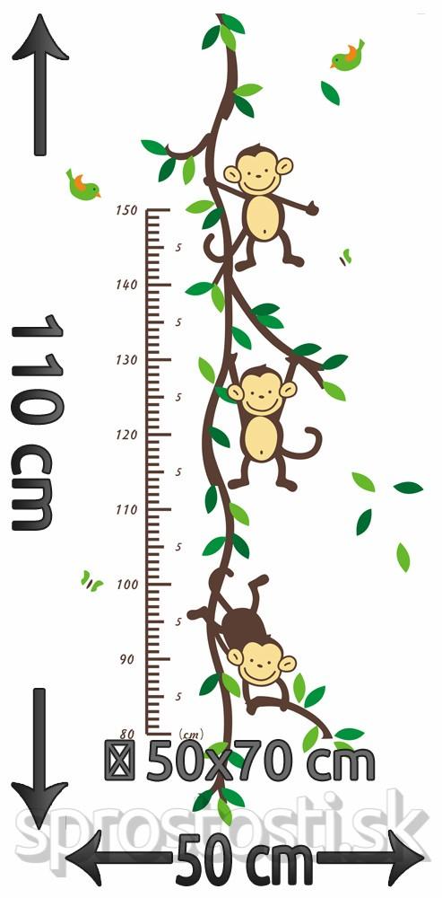 Peel & Stick Komplet Séria Opičky