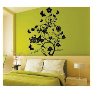 Samolepka na stenu - Nevšedná rastlina
