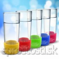 Rádioaktívny pohár s LED podsvietením