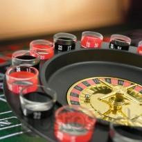 Alkoholová ruleta Sklenená