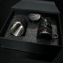 Camera Lens Shot - Poldecák objektív 2ks Deluxe