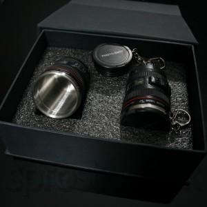 Poháriky objektív - sada Deluxe