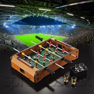 Alkoholový stolný futbal