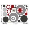 3D tapeta - Kruhy z budúcnosti