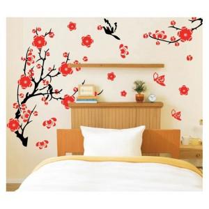 Samolepka na stenu - Divné plody na konári