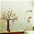 Samolepka na stenu - Hlavná veverica