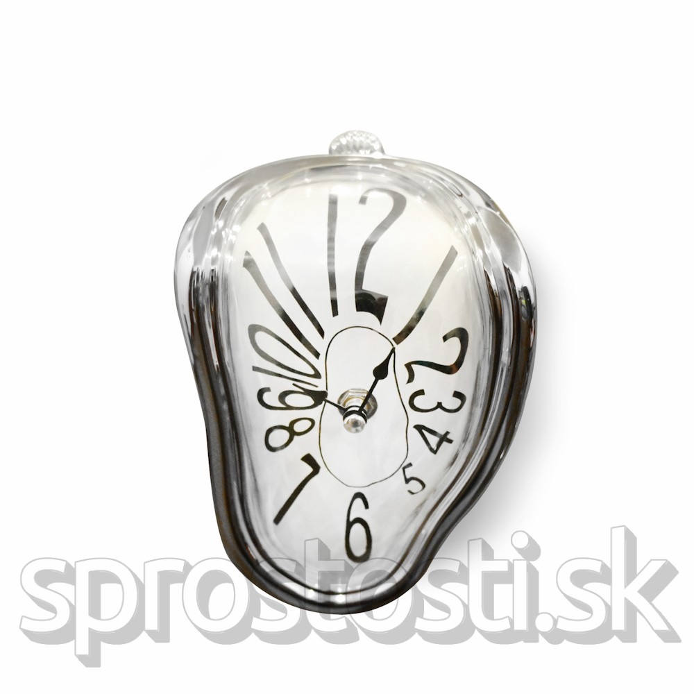 Roztečené hodiny Salvadora Dalího