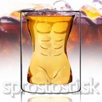 Pohár nahý muž