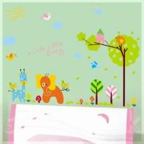 Samolepka na stenu - Čmárané zoo