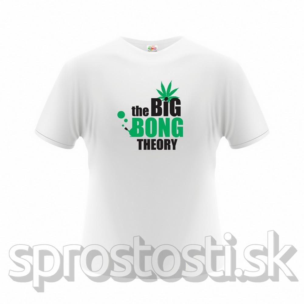 The Big Bong Theory Pánske tričko