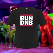 RUN DNB Pánské tričko