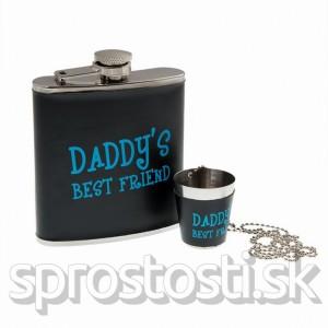 Darčeková ploskačka Daddy's Best Friend