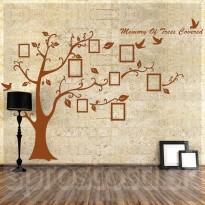 Samolepka na stenu - Strom spomienok XXL Hnedý