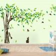 Samolepka na stenu - Strom a Zajac