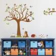 Samolepka na stenu - Hnedé zvieratká