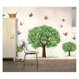 3D tapeta - Vtákoidný strom