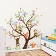 Samolepka na stenu - Opičky a Veveričky