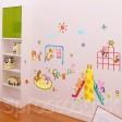 Samolepka na stenu - Detské ihrisko