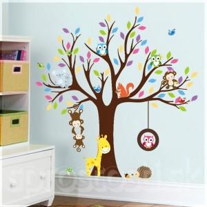 Samolepka na stenu - Koala na strome