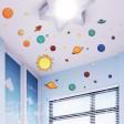 Samolepka na stenu - Hviezdna obloha
