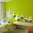 Samolepka na stenu - Mimoni Minions