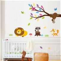 Samolepka na stenu - Spiaci levík
