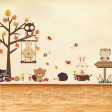 Samolepka na stenu - Zvieratkovský svet