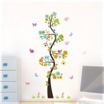 Samolepka na stenu - Krútivý strom