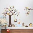 Samolepka na stenu - Zábavný strom
