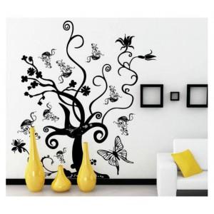 Samolepka na stenu - Čarovný strom