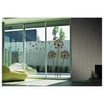 Samolepka na stenu - Hnedé púpavienky