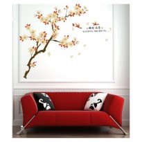 Samolepka na stenu - Japonská sakura