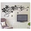 Samolepka na stenu - Plazivé kvety