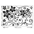 3D tapeta - Plazivé kvety